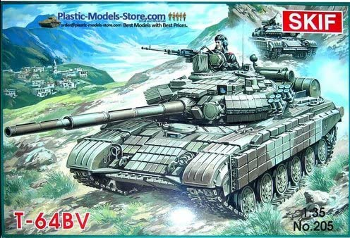Amazon.com  T-64BV Soviet main battle tank MBT 1 35 SKIF 205  Toys   Games 969bb8f8517b
