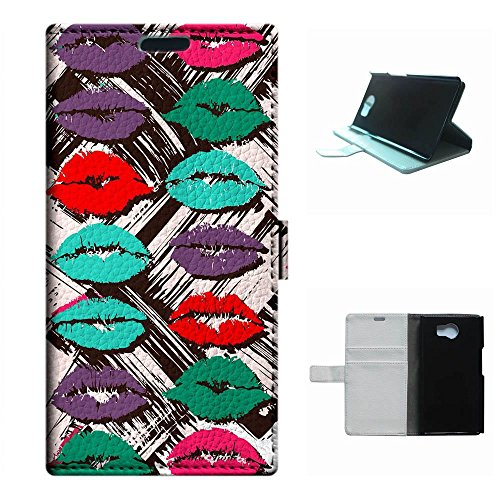 - Priv 5.4 case,SoloShow(R)Deluxe High Quality PU Leather Wallet Card Flip Stand Case for Blackberry Priv 5.4 inch. (Sexy Lips& Kiss)