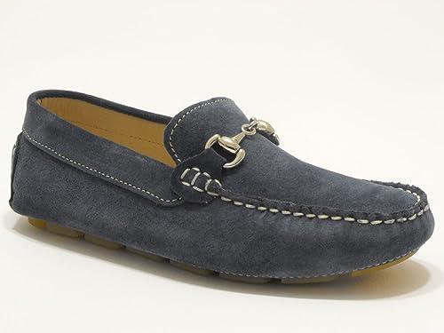 SAUSALITA - Mocasines para niño Azul avion 32: Amazon.es: Zapatos y complementos