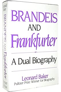 John marshall a life in law leonard baker 9780025063600 amazon brandeis and frankfurter a dual biography fandeluxe Choice Image