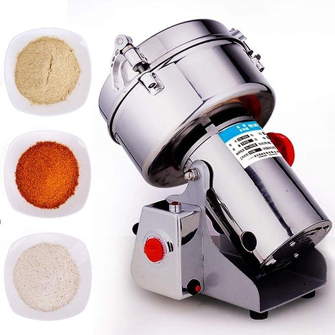 300G Eléctrico Mill Cereal Máquina De Polvo Tipo De Columpio ...