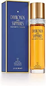 Elizabeth Taylor Diamonds and Sapphires Eau de Toilette Spray for Women, 50ml