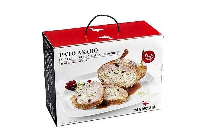 Pato Asado con Foie y Trufa 6/8 raciones. Productos Gourmet. Platos precocinados