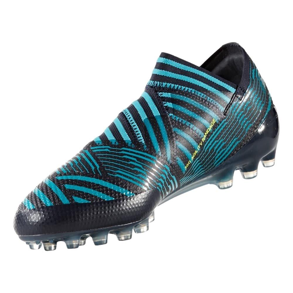 29fd62e14 Amazon.com | adidas Nemeziz 17+ Kid's Firm Ground Soccer Cleats (4.5 M US  Big Kid) Blue/Black | Soccer