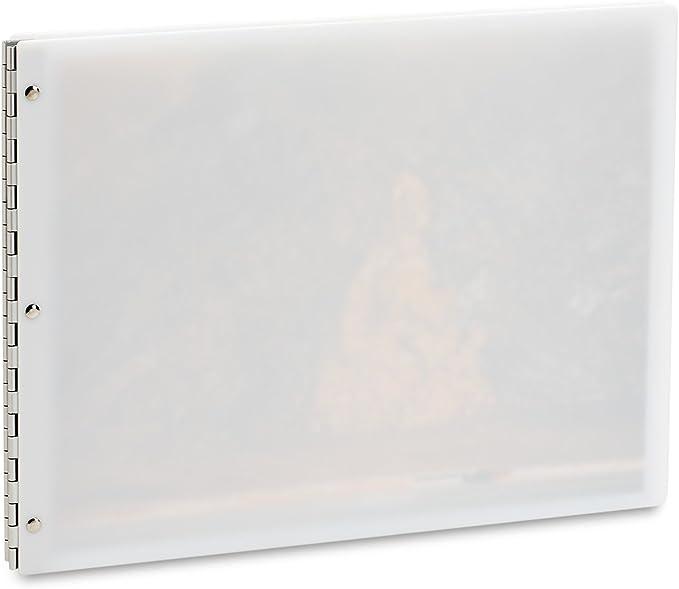34954 8.5x11 Portrait Orientation Pina Zangaro Maple Screwpost Binder