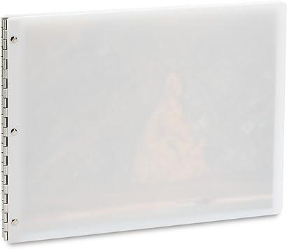 Pina Zangaro Flexx Milk Screwpost Binder 34953 11x14 Landscape