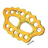 Rigging Plate 15 Holes Aluminum Magnesium Alloy