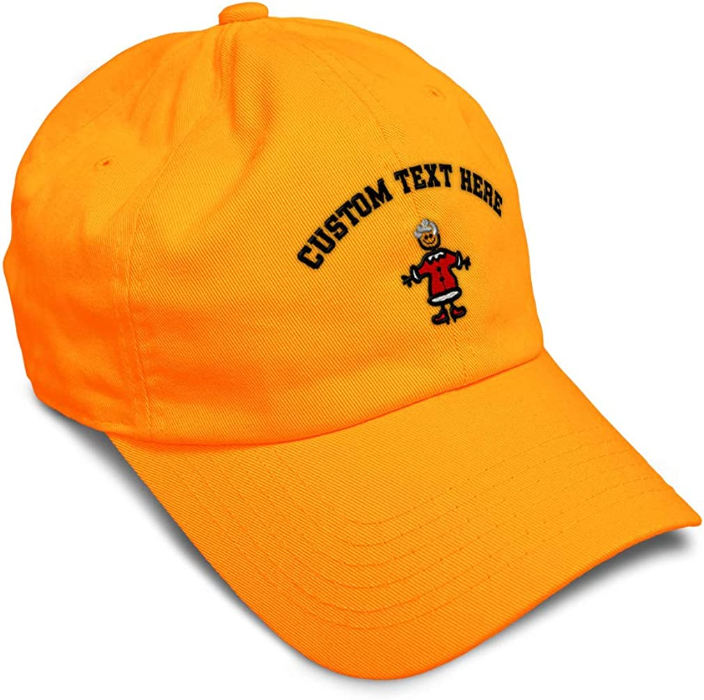 Custom Soft Baseball Cap Mrs Claus Sticky Embroidery Dad Hats for Men /& Women