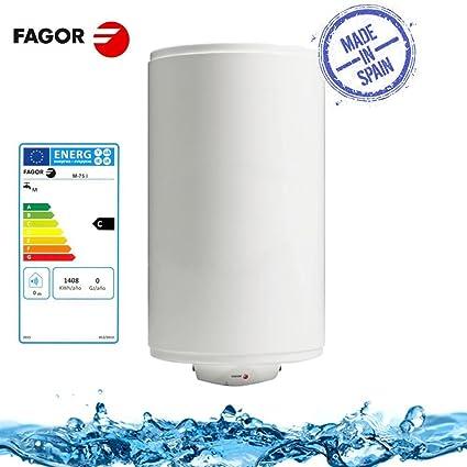 Fagor M de 75 L – Calentador de agua caldera eléctrica 75 Litros 1500 W 0