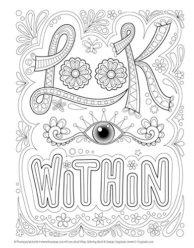 Good Vibes Coloring Book Coloring Is Fun Design