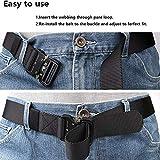 LEADALLWAY Nylon Webbing Waist Belt Tactical Rigger
