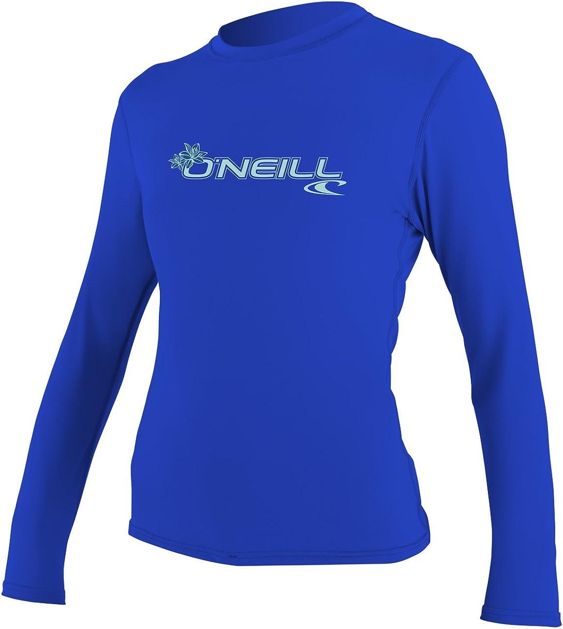 O'Neill Women's Basic Skins Upf 50+ Long Sleeve Sun Shirt