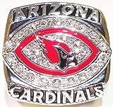2008 Arizona Cardinals Super Bowl Replica Ring Size 11 - Kurt Warner - Shipped from USA. - Arizona Cardinals Memorabilia