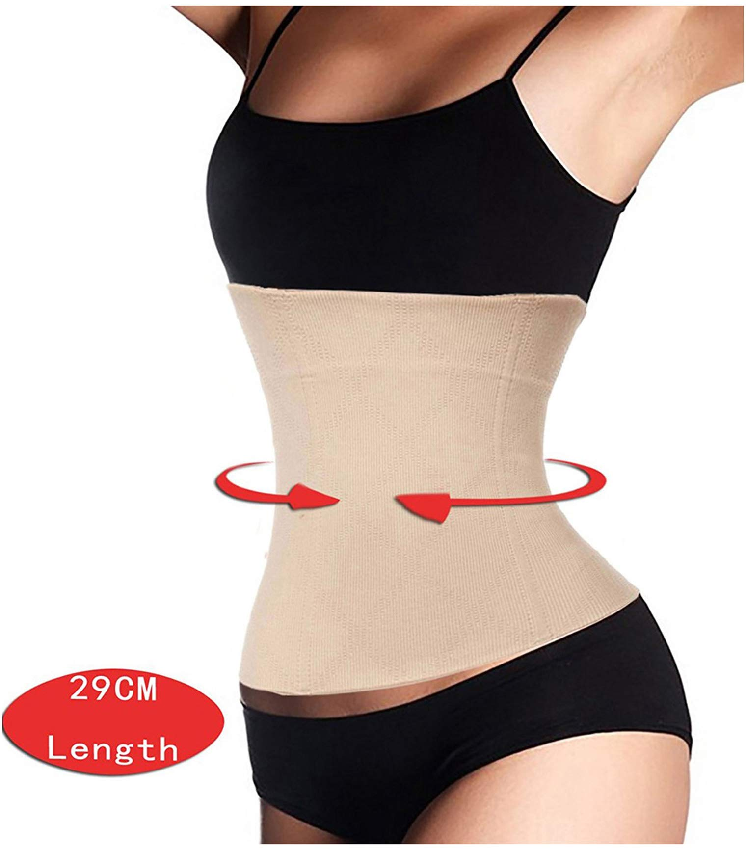 LODAY 2 in 1 Postpartum Recovery Belt,Body Wraps Works for Tighten Loose Skin