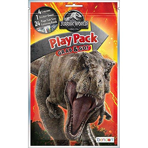 Bendon Publishing Jurassic World Fallen Kingdom Play Pack (Fallen Party Pack)