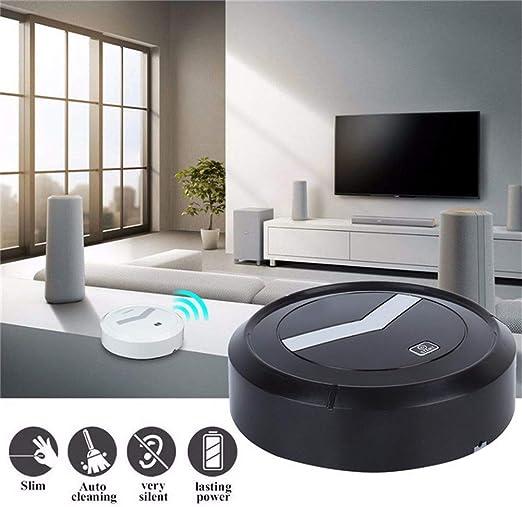 ZHYAN Robot Aspirador, Robot Aspirador Pequeño con Sensores ...