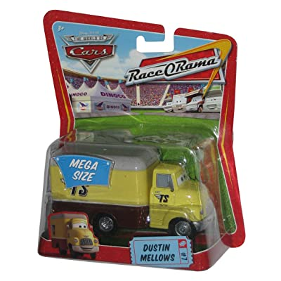 Disney / Pixar CARS Movie 1:55 Die Cast Car Oversized Vehicle Dustin Mellows: Toys & Games