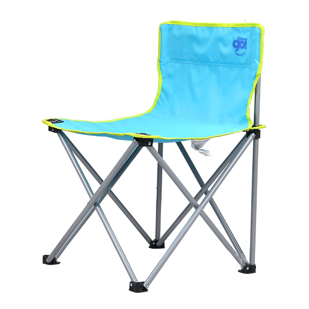 Camping klappstuhl Leichte, langlebige Outdoor-Sitz - Perfekt für Camping, Festivals, Garten, Caravan Trips, Angeln, Strand, BBQs ( Farbe : 2 )
