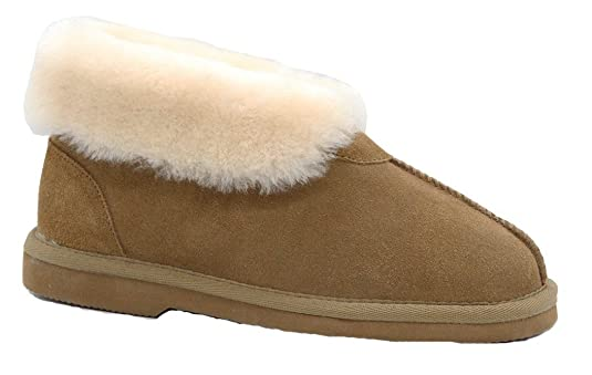 37875db7439 Grosby Ladies Princess UGG Boots Genuine Sheepskin Suede Leather ...
