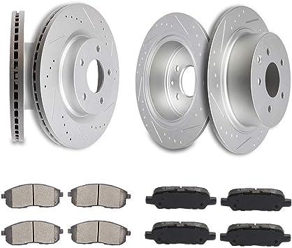 FITS 2013 2014 2015 2016 NISSAN ALTIMA OE BLANK Brake Rotors CERAMIC SLV R