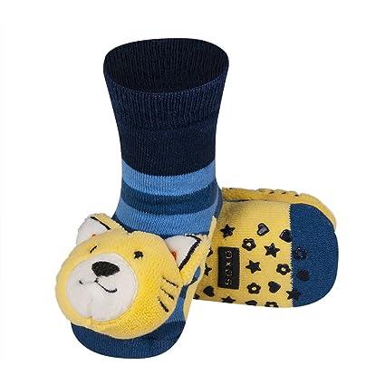 Baby Calcetines Calcetines infantil Sonajero calcetines calcetines T de 03 Tiger 13 cm