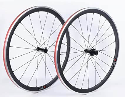 YouCan bicicleta 38 mm juego de ruedas para bicicleta de carretera 700 C clincher DT Swiss