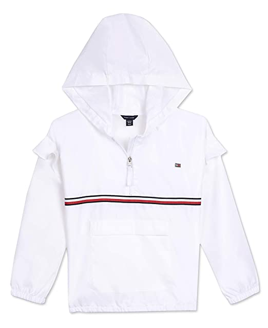 riesiges Inventar Kauf echt Professionel Amazon.com: Tommy Hilfiger Girls' Windbreaker Jacket: Clothing