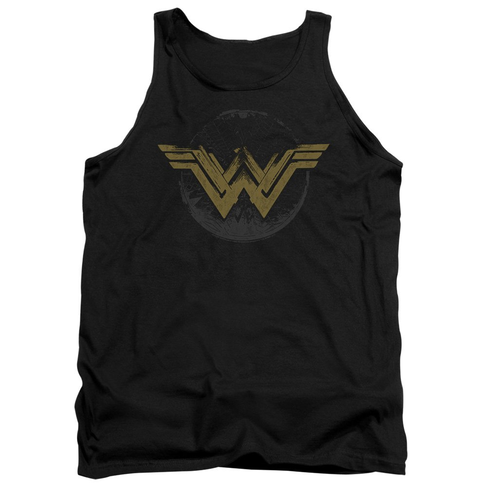 Wonder Woman Movie - Distressed Logo Tank Top Trevco