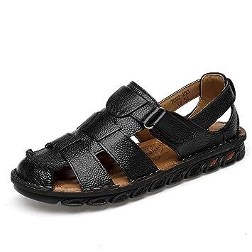 Anti Casual Toe Convenien Hook Sandals Men's Fashion Collision amp;loop m0wnNOv8