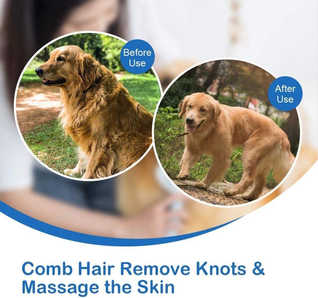 YI-LIGHT Artículos for Mascotas Perro Peine del Pelo de Perro ...