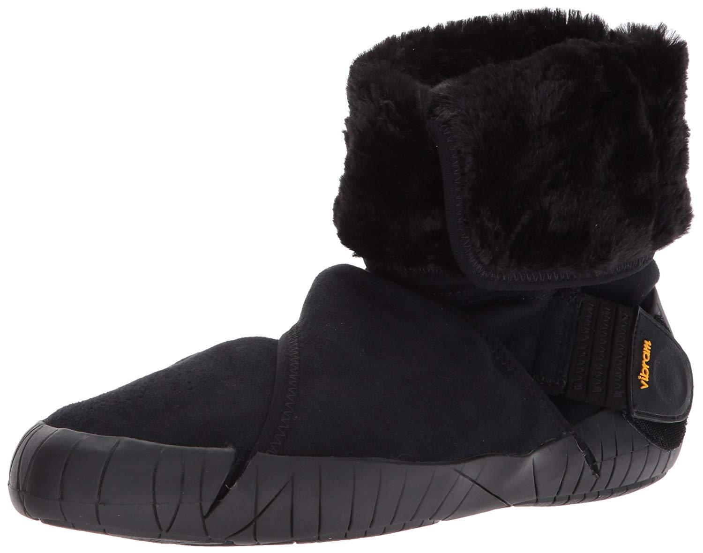 Vibram Furoshiki Mid Boot Eastern Traveler Sneaker, Black, EU:36-37/UK Woman: 4.5-5.5/cm:22-23/US Woman:5.5-6.5