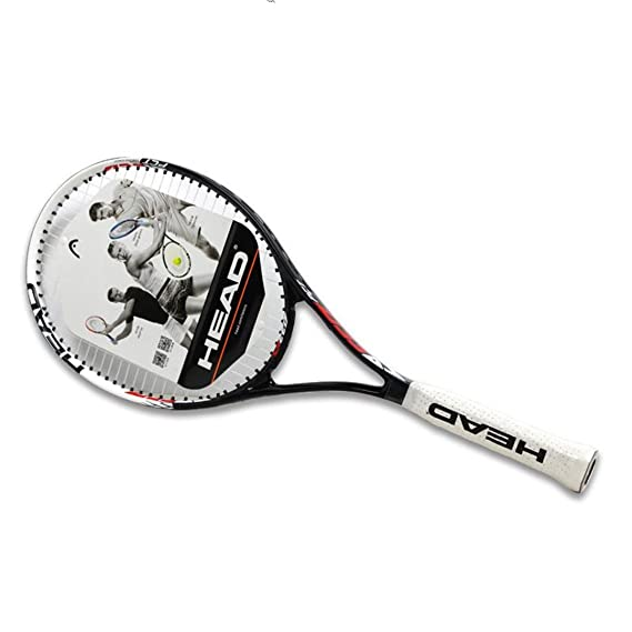 Amazon.com : Taiwanrns Tennis Racket Tenis Masculino Tenis Raketi Carbon Composite Raquete De Tenis with Strung for Young 1 : Sports & Outdoors