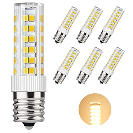 dicuno E17 LED bombilla luz 6 W para horno de microondas aparato ...