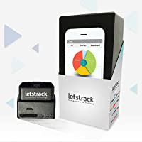 LETSTRACK HUMANISING TECHNOLOGY TRES Real Time GPS Trackers for Vehicle's OBD Port