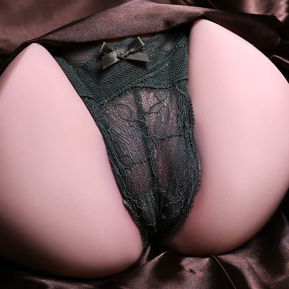 DSASAD Suministros sexuales Invertido Gran Trasero Masajeador de pene Productos sexuales vaginales Suaves y Reales con Varillas calefactoras en el Interior