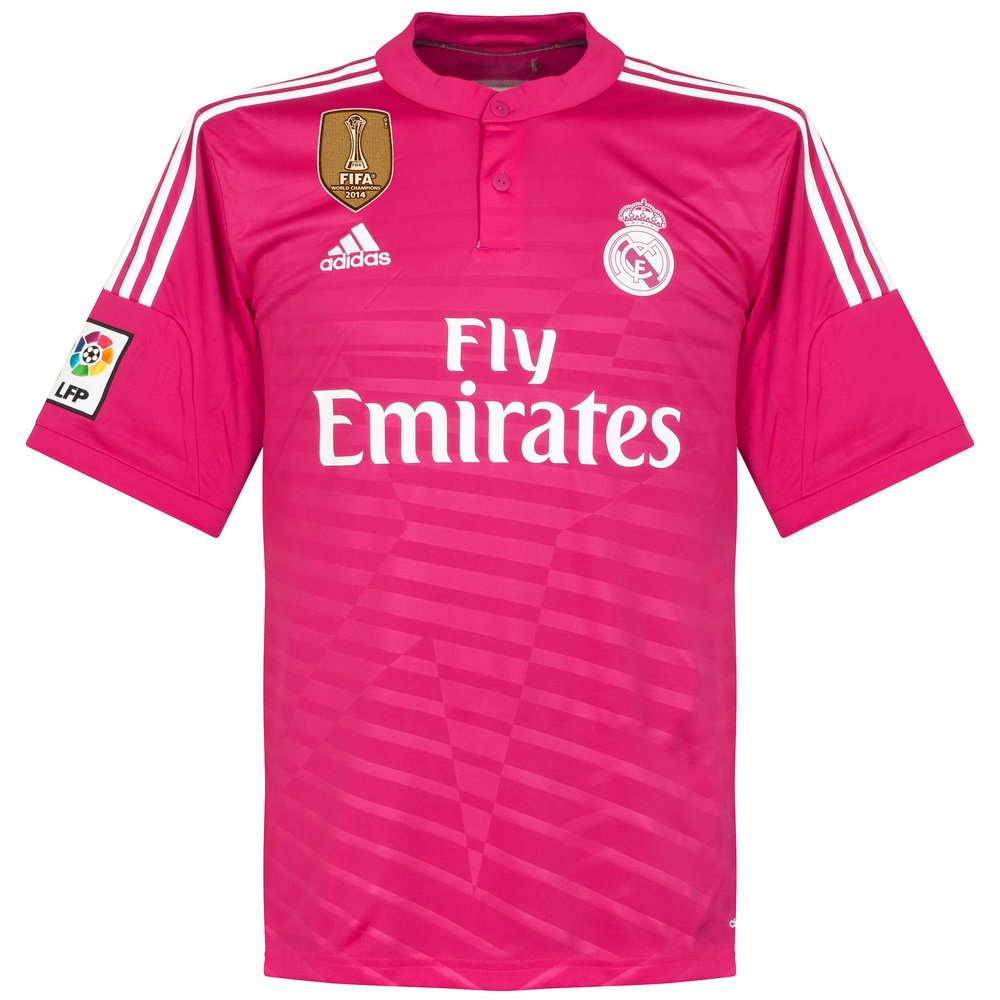 8c99c9274d742 adidas Real Madrid Away Camiseta de 2014 2015 Incluye Mundo Club Campeones  Parche