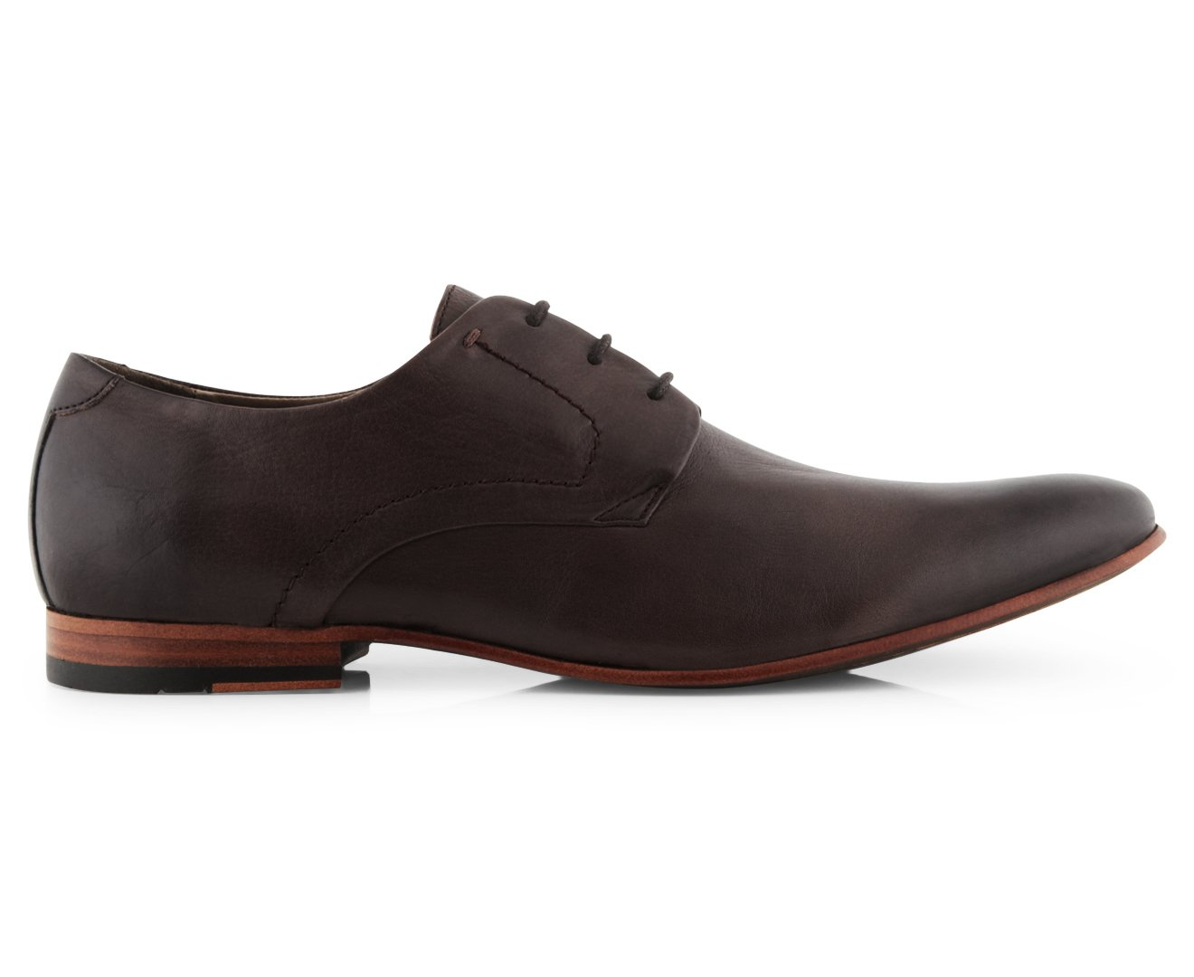 5b1ebd47fcf Aquila AQ by Men's Christopher Business Leather Shoe Brown: Amazon ...