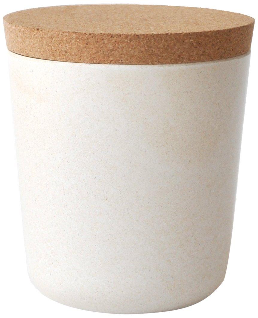 Bote ecológico de fibra de bambú, minimalista 450 ml