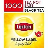 Lipton Yellow Label Quality Black, Tea Pot Bags, 1000 Pieces, Yellow Label Quality