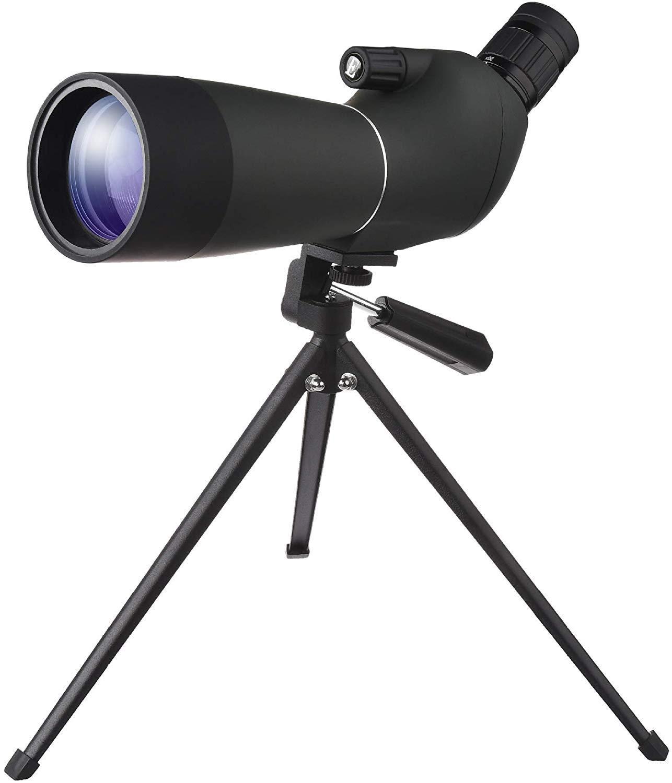 BAK4 Prismas a prueba de golpes Profesional en /ángulo ocular a prueba de agua con el tr/ípode y digiscoping adaptador 20-60x60mm Alcance de la localizaci/ón la /óptica completamente Multi-revestida