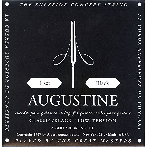 Augustine Classical Guitar Strings (HLSETBLACK)