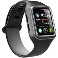 Clayco Apple Watch 5/4 Band 44mm 2019/2018, [Hera Series] Shock Resistant Ultra Slim Protective Bumper Case with Strap…