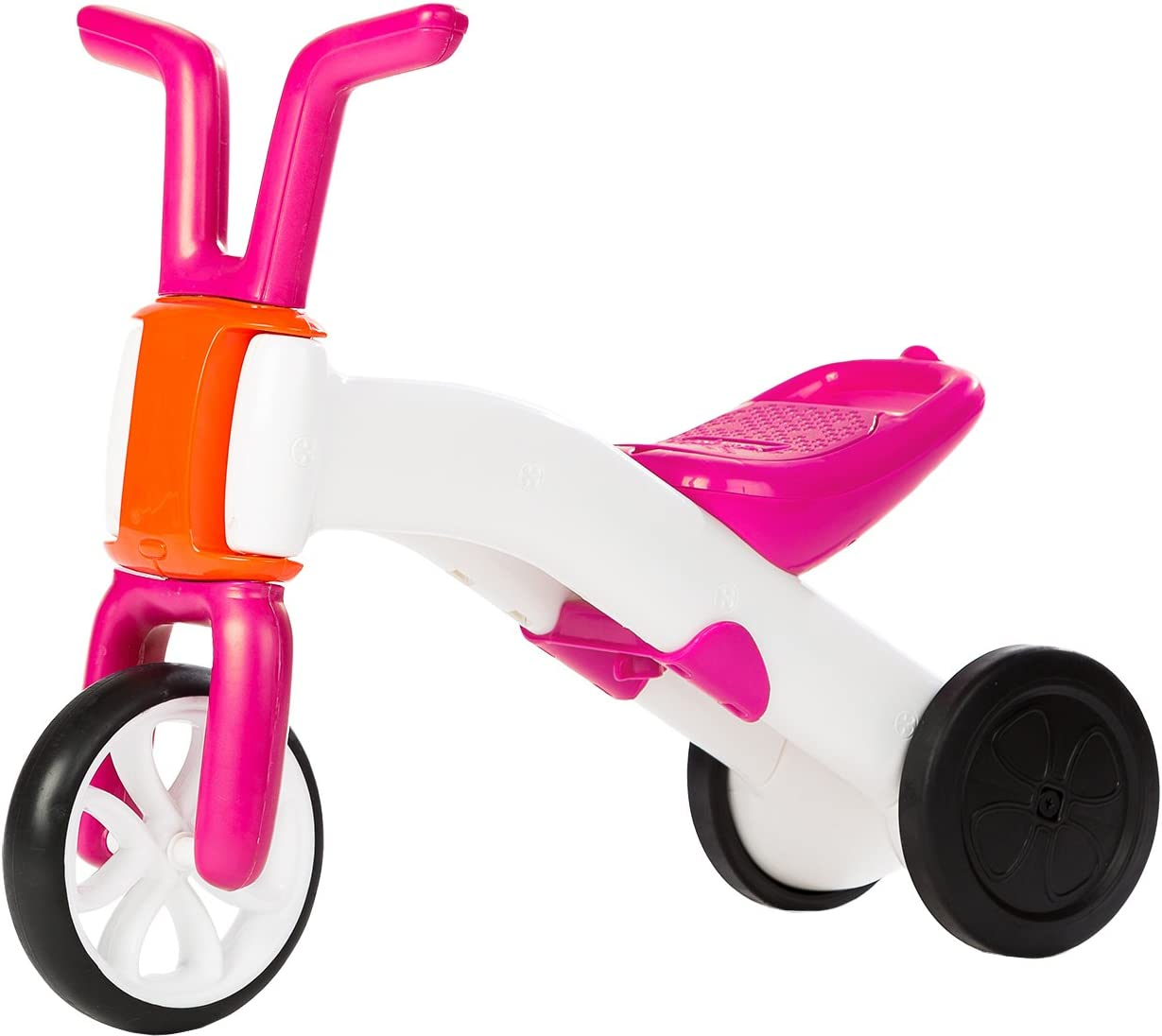Chillafish - Bunzi Balance Ride-on, correpasillos y Bicicleta 2 en 1, Color Rosa (49901P)