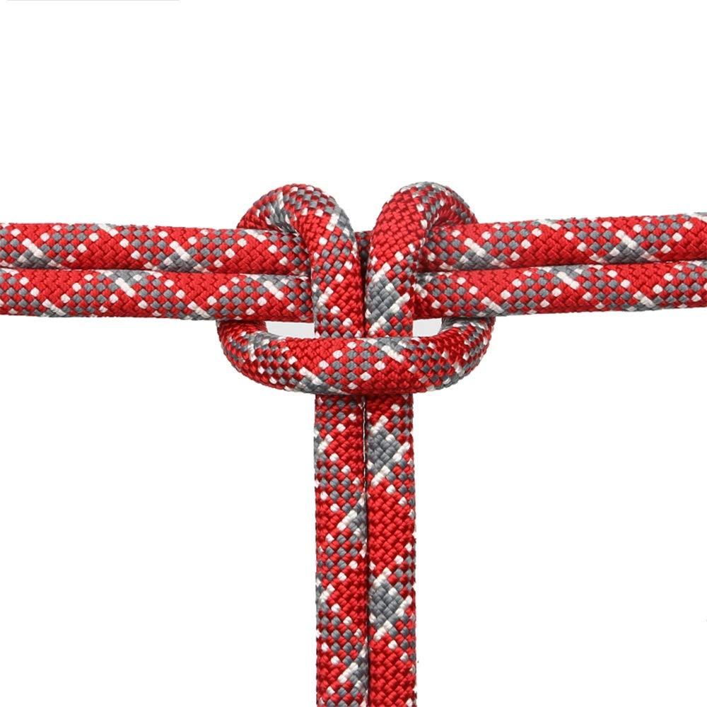 LIINA ロープ 12ミリメートルクライミングロープラッパーロープ屋外クライミングロープ安全ロープスパイダーマン救助クライミングロープ屋外/屋内に適して (Size : 80m)  80m