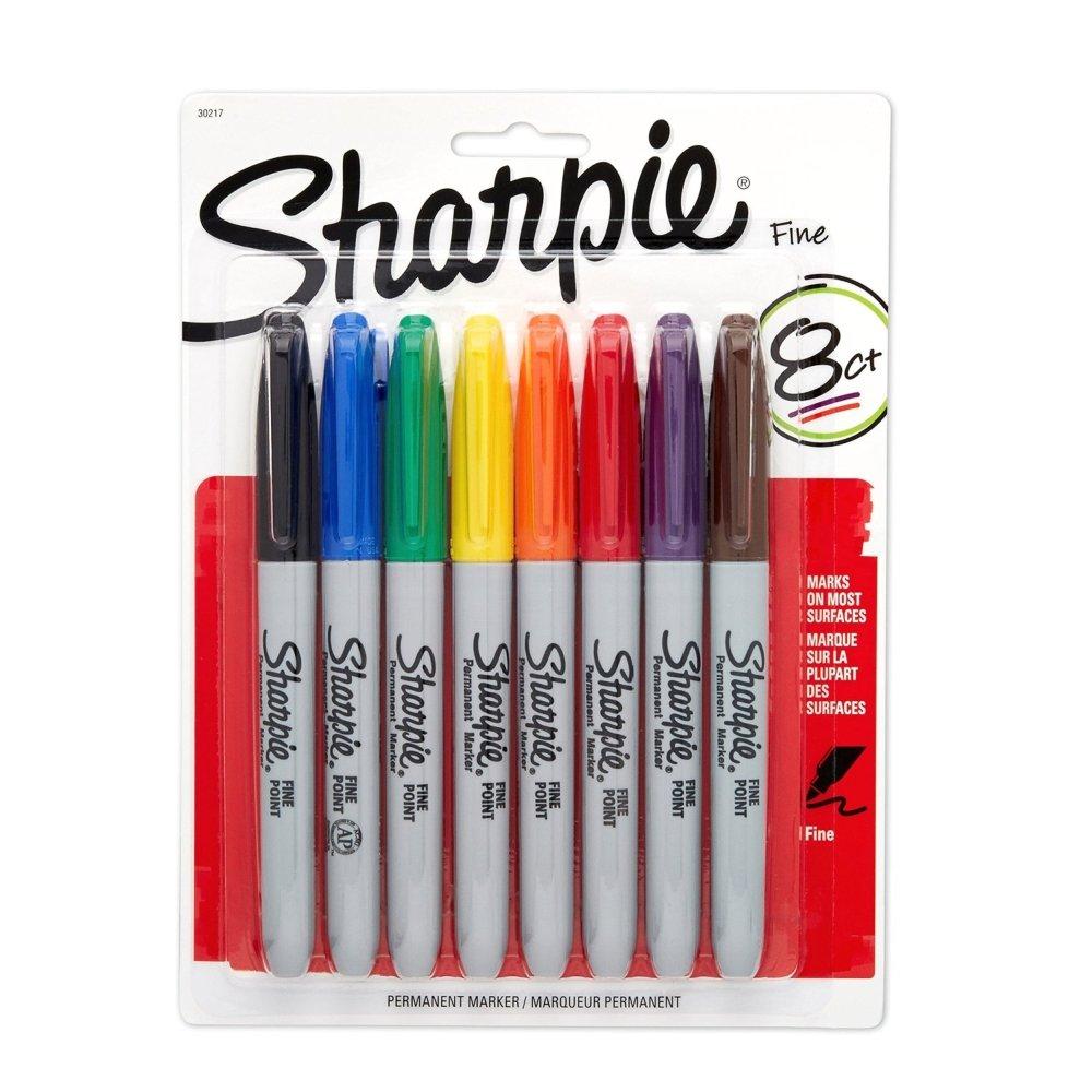 Sharpie, pennarelli a punta fine in colori assortiti Sanford Corp 30217
