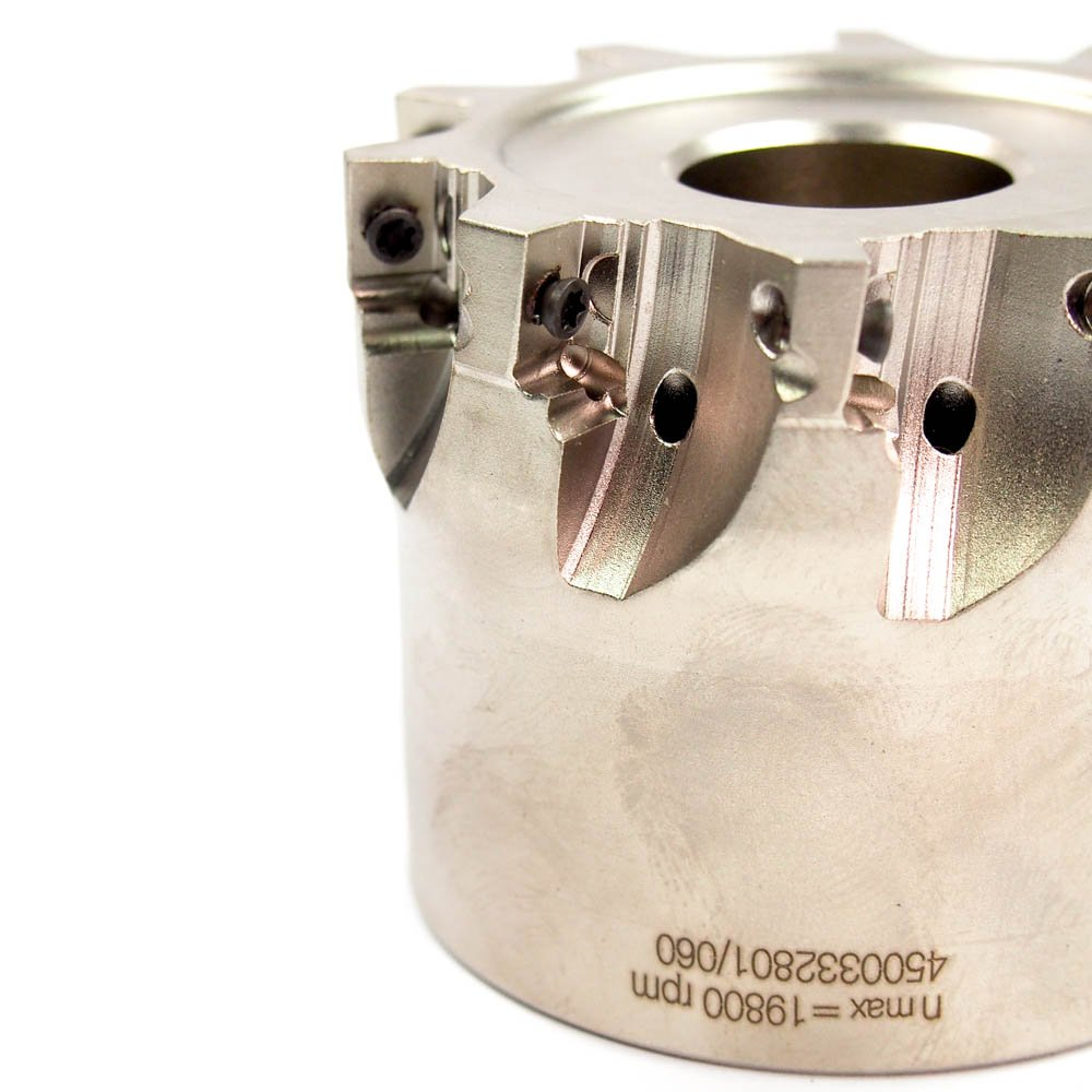 2-1//2 Indexable Square Shoulder Face Mill HERTEL HMC420R-2.50.10-10-200 6000337