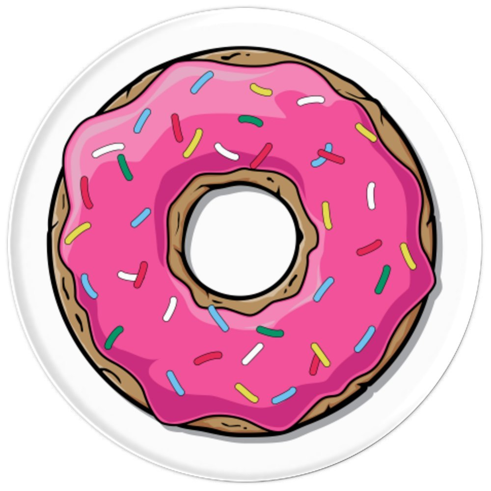 Popsocket Motif Donuts Update Daftar Harga Terbaru Terlengkap Kartu Bca Flazz Custom Supreme Amazoncom Donut Pink Frosting With Sprinkles Popsockets Grip And Stand For Phones