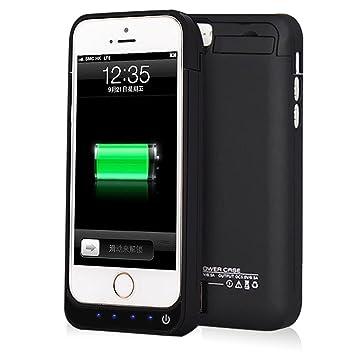 Funda Batería Para iPhone 5 5S 5C SE, NOVPEAK 4200mAh Batería recargable externa ultra delgada Protector portátil Carga caso de prueba de choque para ...