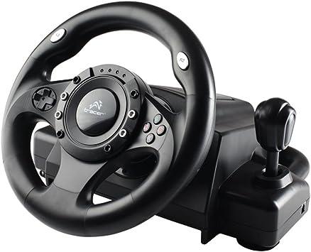 Tracer - Volante Trajoy 34009 Drifter USB compatible con PlayStation 2 y 3: Amazon.es: Electrónica
