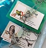 Best Smiling Wisdom Friend Necklace Kids - Smiling Wisdom - Frog, Owl - 2 Hollow Review
